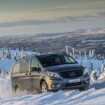 Новият Mercedes-Benz Vito 4 × 4: решаващ тласък за бизнес професионалисти - не само през зимата!