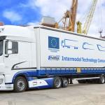 DAF: 20% по-голям обем товари в Контейнерния транспорт - DAF TelliSys Low Deck Euro 6