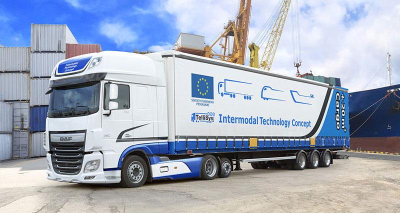 DAF: 20% по-голям обем товари в Контейнерния транспорт – DAF TelliSys Low Deck Euro 6