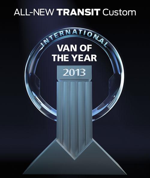Ford празнува спечелването на петзвездна награда
