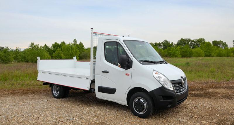 Renault Trucks предлага JPM Самосвали Master