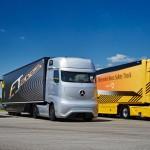 Водещи в областта на безопасността: С камиони, бусове и автобуси от Mercedes-Benz и Setra