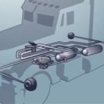 Поддръжка на въздушната система на камиона: неизправности на компресора за въздух и на ЕСС буталото