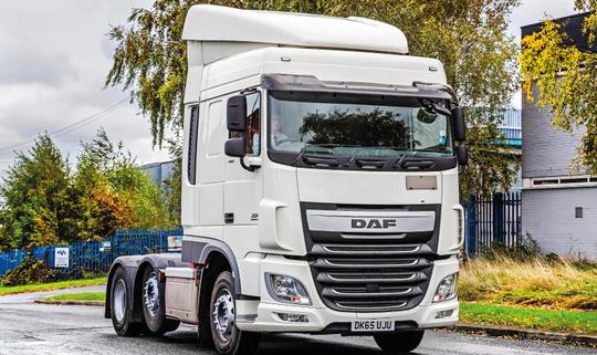 камион DAF