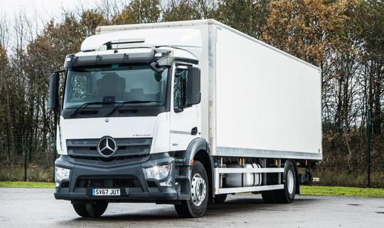 Mercedes-Benz Antos втора употреба