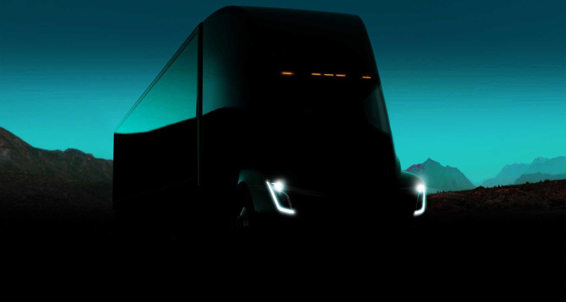 електрически камиони TESLA