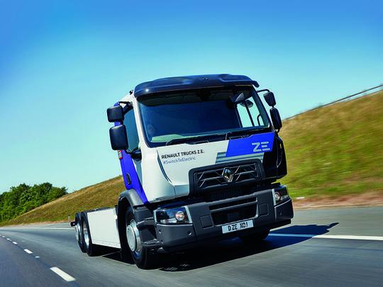 Камион Renault D Wide ZE 26-тонен