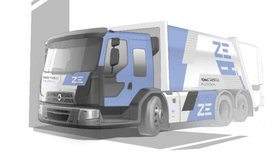 Renault електрически камиони D Wide